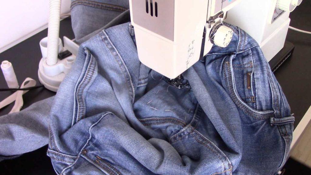 raccomoder un jean